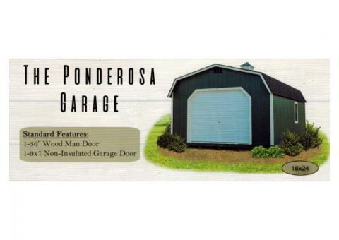 Portable Garages Custom Built & Delivered