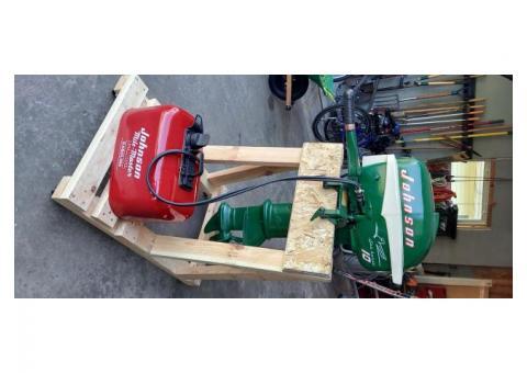 Johnson Seahorse 10 hp. Outboard motor