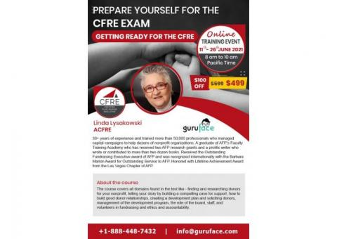 CFRE Exam Preparation Training - Get Ready for your CFRE