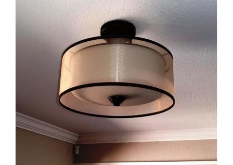 Hat Style Light Fixture